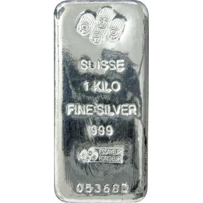 PAMP SUISSE Silver Kilobar