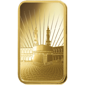 Ka ´Bah, Mecca Gold Bar 5 Grams