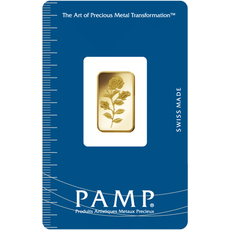 Rosa PAMP Gold Bar