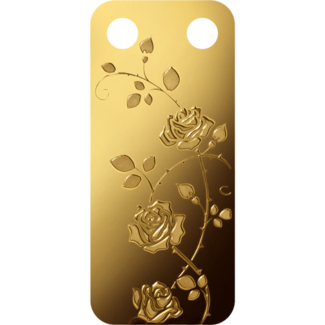 bloom Series rose 999.9 gold buy gold online