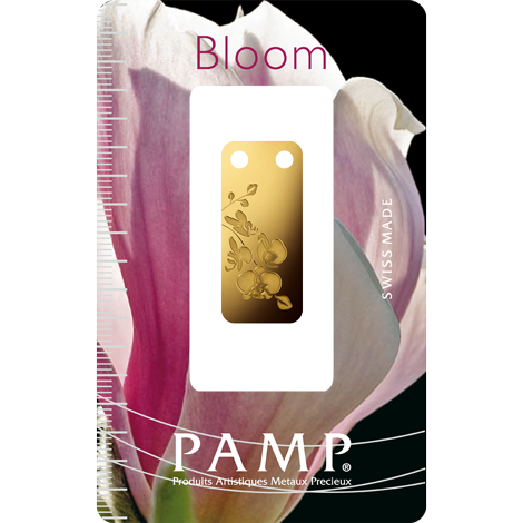 bloom orchid 999.9 gold with packaging