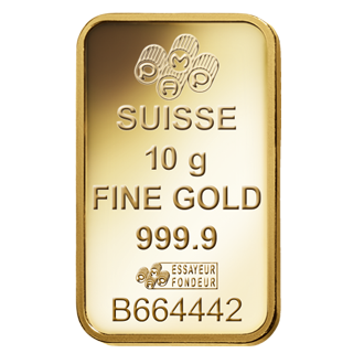 Fortuna Gold Bar 10 Grams