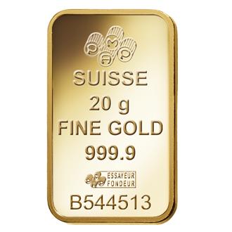 Fortuna Gold Bar 20 Grams