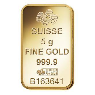 Fortuna Gold Bar 5 Grams