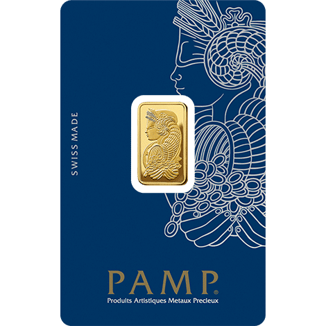 Fortuna PAMP Gold Bar 5 Grams