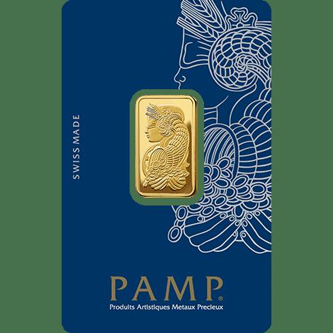 Fortuna PAMP Gold Bar 10 Grams