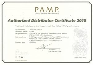 pamp authorized dealer malaysia 2018