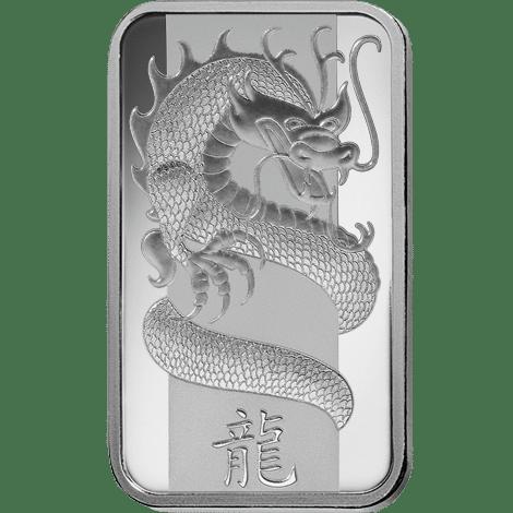 Lunar Calendar Dragon 100g silver