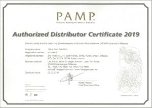 pamp authorized distributor malaysia 2019