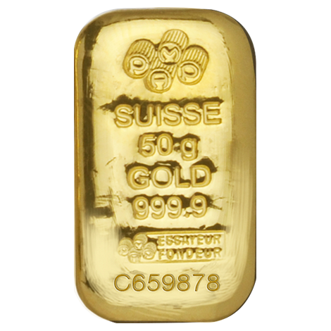 PAMP SUISEE CAST BAR 50G