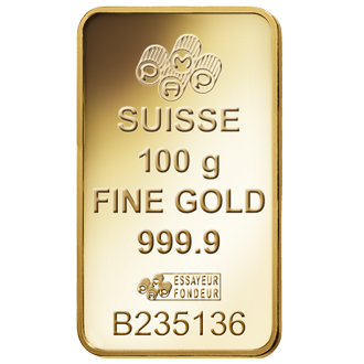 Fortuna Gold Bar 100 Grams