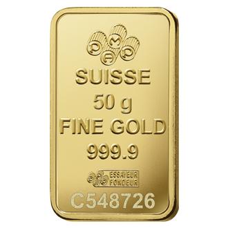 Rosa Gold Bar 50 Grams