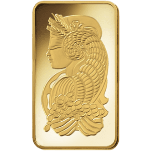 Fortuna Gold Bar Obverse Side