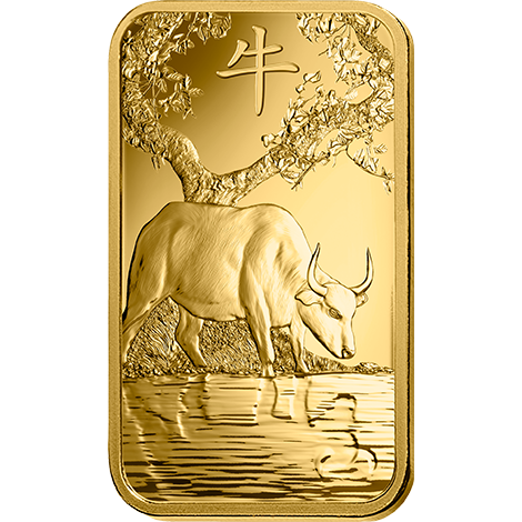 PAMP Year Of The Ox 2021 1Oz Gold Bar
